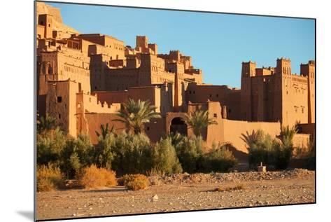 Ait Benhaddou is a Fortified City, or Ksar, along the Former Caravan Route between the Sahara and M-A_nella-Mounted Photographic Print