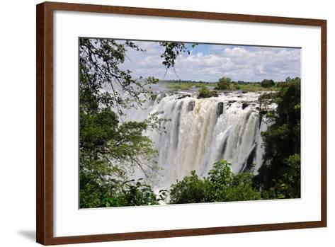 Victoria Falls, Zambezi River, Africa-Marc Scott-Parkin-Framed Art Print