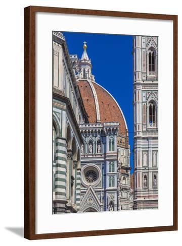 Details Cathedral Florence-CreativeNaturePhotography-Framed Art Print