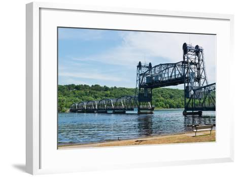 Lift Bridge-Hank Shiffman-Framed Art Print