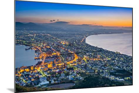 Hakodate, Japan Viewed from Hakodate Mountain.-SeanPavonePhoto-Mounted Photographic Print