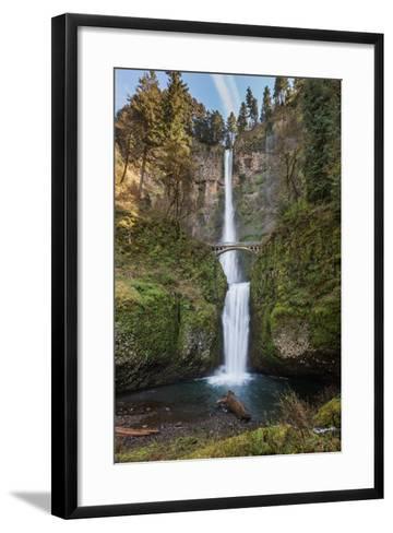 Multnomah Falls, Oregon-wollertz-Framed Art Print