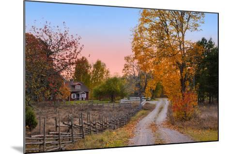 Landscape in Sweden-almgren-Mounted Photographic Print