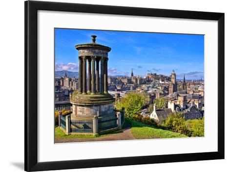 Classic Edinburgh View-Jeni Foto-Framed Art Print