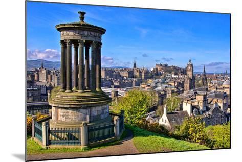 Classic Edinburgh View-Jeni Foto-Mounted Photographic Print