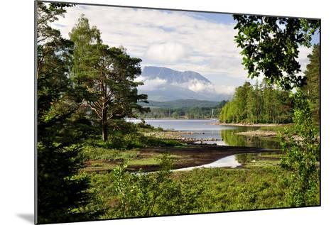 Ben Nevis, Scottish Highlands-Another Viewpoint-Mounted Photographic Print