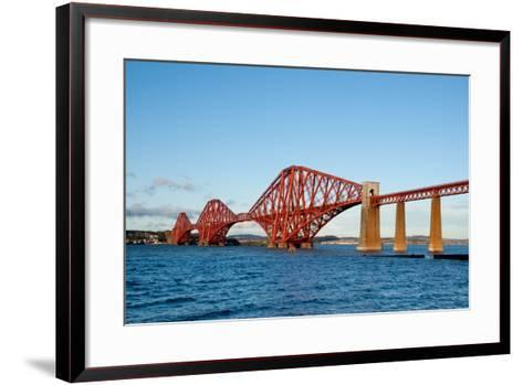 The Forth Bridge, Finally, Painted!- Versevend-Framed Art Print