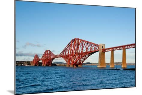 The Forth Bridge, Finally, Painted!- Versevend-Mounted Photographic Print