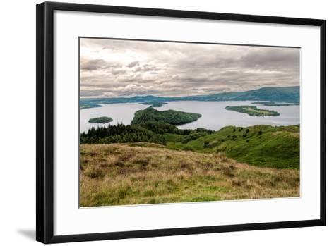 Loch Lomond-danielbarquero-Framed Art Print