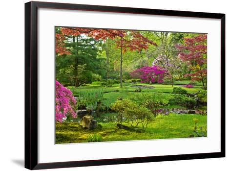 Japanese Garden-neirfy-Framed Art Print