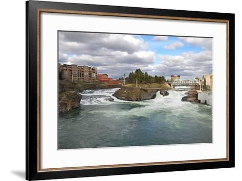 Spokane-bfoxfoto-Framed Art Print