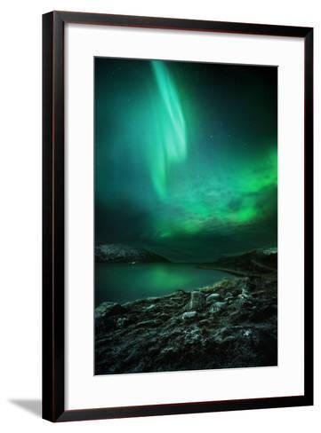 The Northern Lights Rising-Solarseven-Framed Art Print
