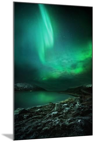 The Northern Lights Rising-Solarseven-Mounted Photographic Print