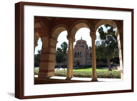 Building of University-Radist-Framed Art Print