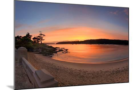 Sunrise Balmoral Beach Panorama  Australia-lovleah-Mounted Photographic Print