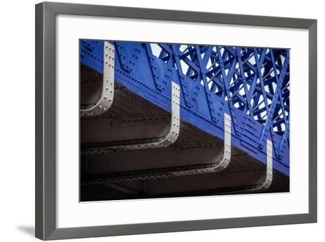 Blue Bridge Detail--Framed Art Print