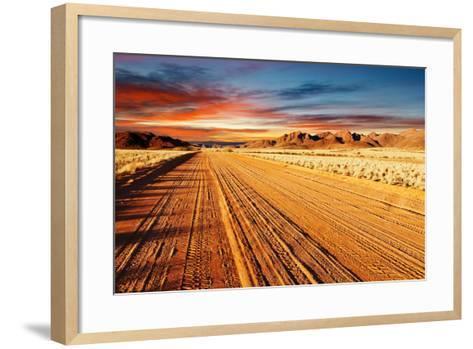 Kalahari Desert, Namibia-DmitryP-Framed Art Print