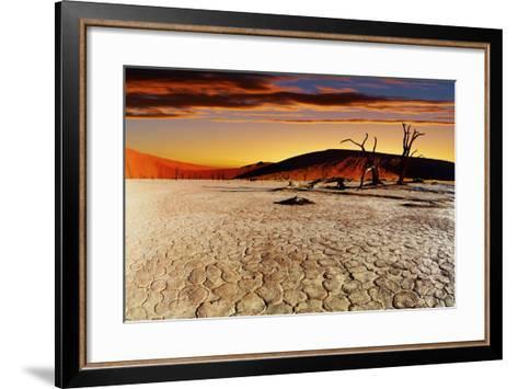 Namib Desert, Sossusvlei, Namibia-DmitryP-Framed Art Print
