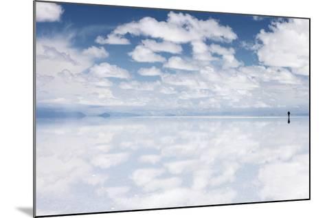 Salar De Uyuni, Salt Flat in Bolivia - Biggest Salt Lak? in the World-zanskar-Mounted Photographic Print
