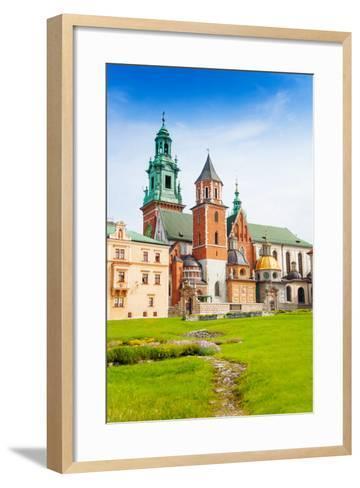 Close View of Royal Archcathedral Basilica-SerrNovik-Framed Art Print