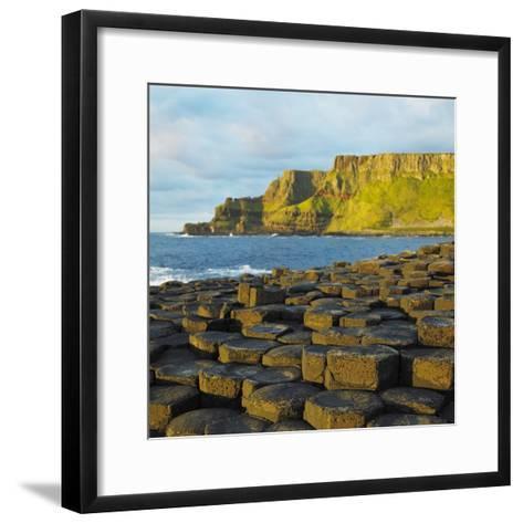 Giant's Causeway, County Antrim, Northern Ireland-phbcz-Framed Art Print