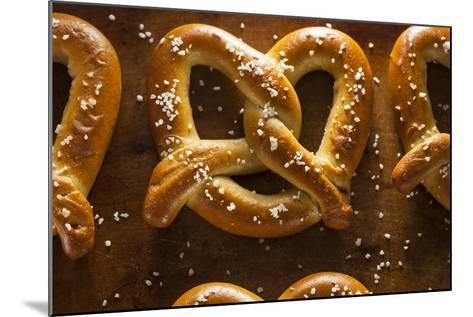 Homemade Soft Pretzels with Salt-bhofack22-Mounted Photographic Print