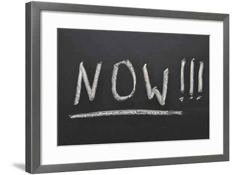 Now Concept-Yury Zap-Framed Art Print