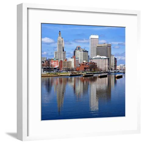 Providence, Rhode Island Was One of the First Cities Established in the United States.-SeanPavonePhoto-Framed Art Print