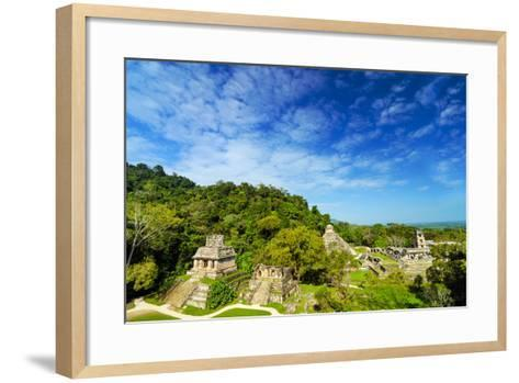 Palenque View-jkraft5-Framed Art Print