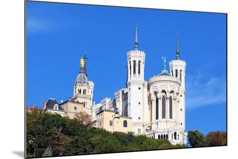 Basilica of Notre-Dame De Fourviere in Lyon-prochasson-Mounted Photographic Print