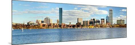 Financial District of Boston, Massachusetts-SeanPavonePhoto-Mounted Photographic Print