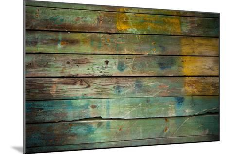 Wood Grungy Background-Arcady31-Mounted Photographic Print