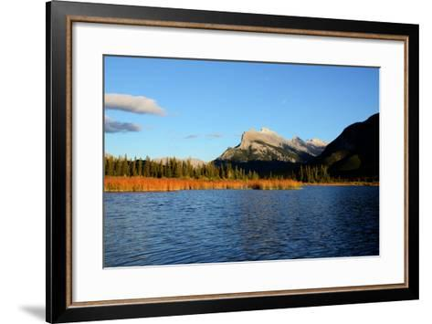 Mount Rundle and Vermilion Lakes in Autumn,Canadian Rockies,Canada-Tatsuo115-Framed Art Print