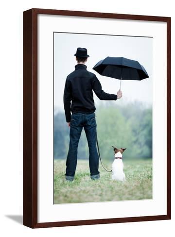 Best Friends-Javier Brosch-Framed Art Print