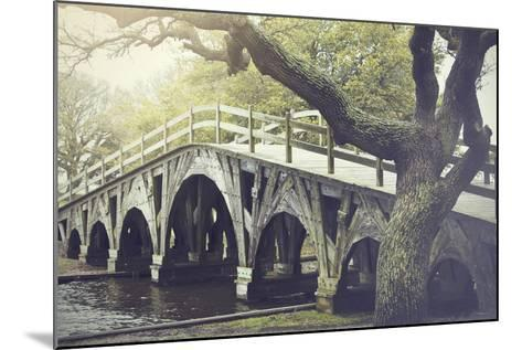 The Footbridge in Corolla, North Carolina is on the National Register of Historic Places.-pdb1-Mounted Photographic Print