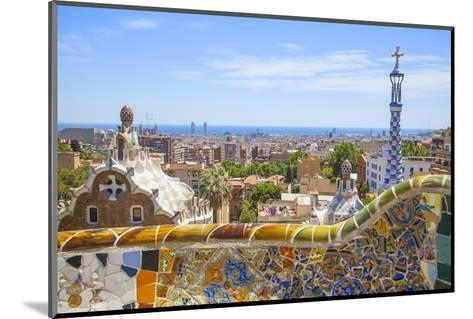 Park Guell in Barcelona-lorenzobovi-Mounted Photographic Print