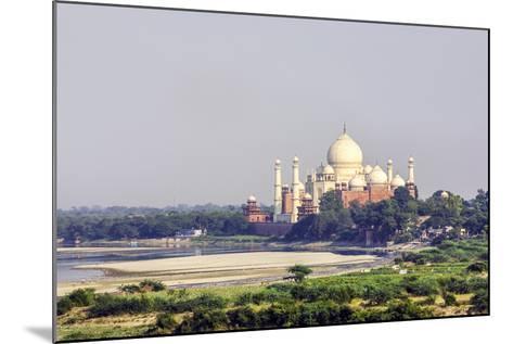 Taj Mahal in Agra-Jorg Hackemann-Mounted Photographic Print