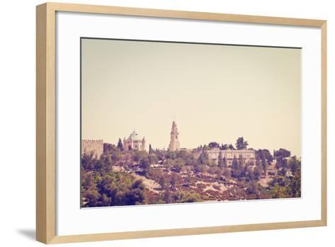 Mount Zion-gkuna-Framed Art Print