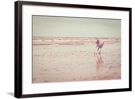Horse-gkuna-Framed Art Print