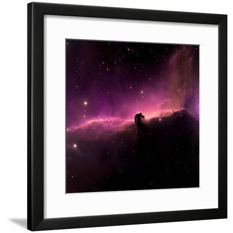 Horsehead Nebula-willmac-Framed Art Print