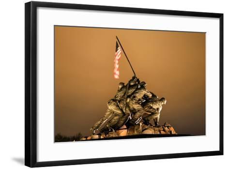 The Marine Corps War Memorial Washington Dc-BILLPERRY-Framed Art Print