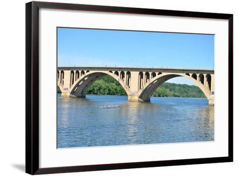 Key Bridge - Washington DC-Orhan-Framed Art Print