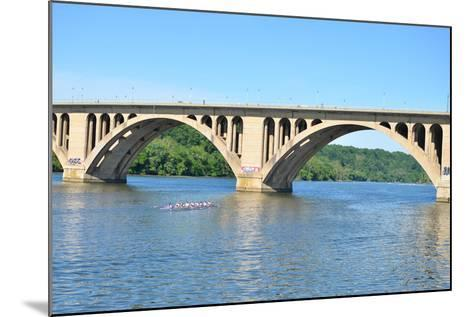 Key Bridge - Washington DC-Orhan-Mounted Photographic Print