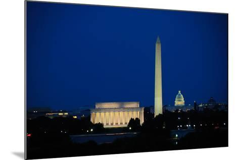 Washington DC Skyline-Matthew Carroll-Mounted Photographic Print