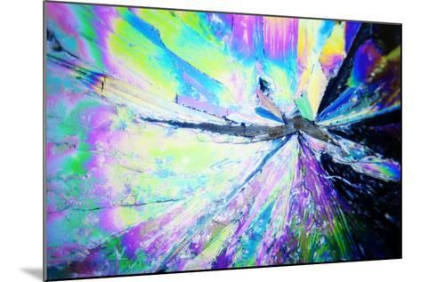 Micro Crystals-3quarks-Mounted Photographic Print