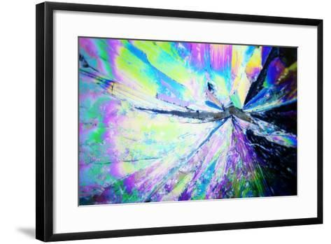 Micro Crystals-3quarks-Framed Art Print