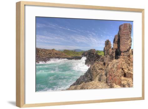 Bomboheadland Kiama Nsw Australia-lovleah-Framed Art Print