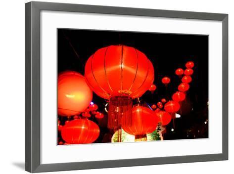 Chinese New Year Festival-bunyarit-Framed Art Print
