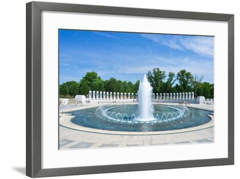 Washington DC - World War II Memorial-Orhan-Framed Art Print