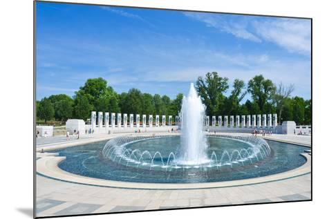 Washington DC - World War II Memorial-Orhan-Mounted Photographic Print